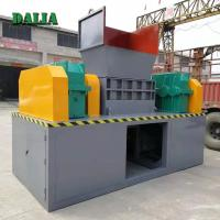 Buy cheap Large Capacity Double Shaft Shredder Machine For Waste Plastics Iso / Ce from wholesalers