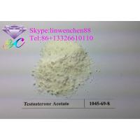 Buy cheap 99% Testosterone acetate Testosterone CAS 1045-69-8 Steroid Hormone white powder from wholesalers