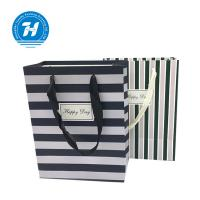 Buy cheap Fancy Custom Printed Merchandise Bags Craft Rope Handle Unique Design from wholesalers