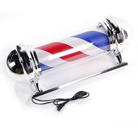 Buy cheap Hair Salon LED Rotating Barber Pole Spiral Striped Animated 110V Beauty Shop Light from wholesalers