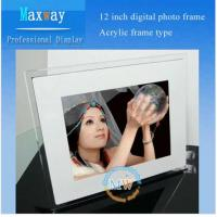 Buy cheap Acrylic frame 12 inch digital photo frame from wholesalers