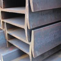 Buy cheap mild steel, I Section, steel I beam, hot rolled, EN standard, 12m long,  steel structure, 80*46mm, efficient material from wholesalers