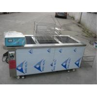 Buy cheap Manual Automatic Glass Cleaning Machine Three Tank Aluminum Degreasing 6KW Heating Power from wholesalers