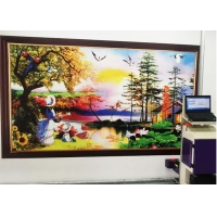 Buy cheap 14sqm/H 720x720DPL Wall Poster Printing Machine from wholesalers