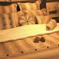 Buy cheap 100% Cotton Yarn Dyed Duvet Covet Set, Customized Colors are Accepted product