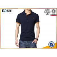 Buy cheap Men'S Fashion Custom Polo Shirt / Embroidery Polo Shirt Contrast Color Neck from wholesalers