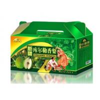 Buy cheap 5- Ply Food Packaging Boxes , Handmade Fresh Fruit Box Brown / White Color from wholesalers