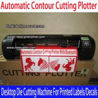 Buy cheap Vinyl Sign Cutter With ARMS Automatic Contour Cutting Plotter A3 Die Cutting Plotter Decal from wholesalers