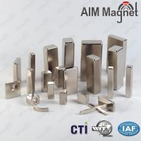 Buy cheap N52 largest neodymium magnet/ block magnet from wholesalers