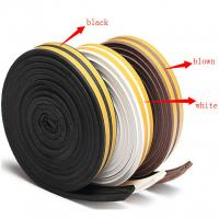Buy cheap Garage Door Seal Weather Strip Adhesive Rubber Tape Window Sliding Bottom Foam Silicone from wholesalers