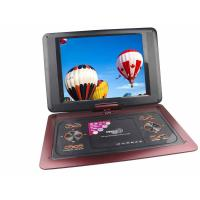 Buy cheap 12 inch portable DVD player with radio,game and support USB / SD/ MMC product