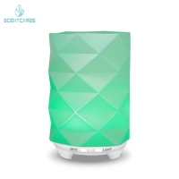 Buy cheap 2.4MHZ Art Glass 12W Essential Oil Aroma Diffuser 100ml from wholesalers