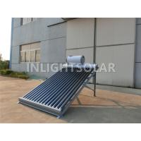 Buy cheap No Pressure Vacuum Tube Solar Collector For Swimming Pool / Hotel Hot Water from wholesalers