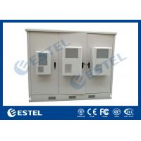 Buy cheap Outdoor Telecom Assembled Base Station Cabinet Hot Dip Galvanized Steel Material from wholesalers