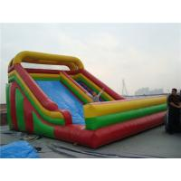 Buy cheap Garden Double Inflatable Water Slide Party Rentals Muti Colored Wear Resistance from wholesalers