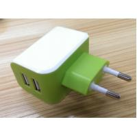 Buy cheap European Plug Multi USB Travel Charger 3.1A Dual USB Port For IPhone / Galaxy product