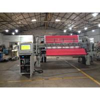 3.5kw Mattress Quilting Machine , Twin Needle Sewing Machine 2388 Mm Quilting Width