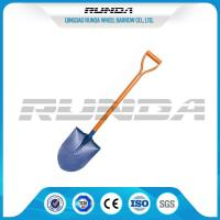 Buy cheap Railway Steel Long Handle Spade Shovel / Garden Spade S503 For Farm Digging from wholesalers