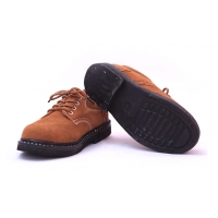Buy cheap Solid Bottom Tire Bottom Anti Smashing Anti Stab Welding Safety Shoes Wear Resistant And Breathable Cowhide from wholesalers