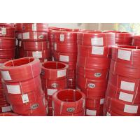 China Red Polyurethane PU extruded belt Hardness 90A Tear Strength on sale