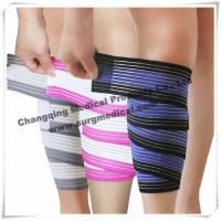 Buy cheap Ankle Compression Medical Bandage / Weight Lifting Stretchable Knee Elastic Wrap Bandage from wholesalers