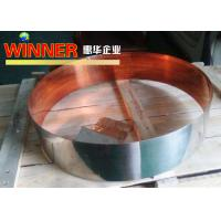 Buy cheap Nickel Composite Copper Metal Strips , Intermittent Nickel Plated Copper Strip from wholesalers