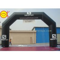 Buy cheap Outdoor Event Inflatable Arch For Sport / advertising , Inflatable Start Line from wholesalers