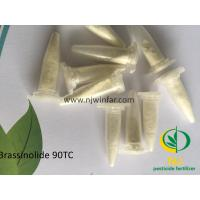 Buy cheap natural plant growth regulator Brassinolide,Br 90TC,plant hormones,white powder from wholesalers