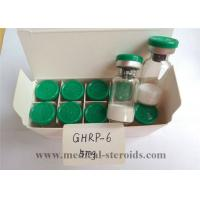 Buy cheap Ghrp-6 Human Growth Hormone Peptide / Natural Growth Hormone Supplements For Fat Loss from wholesalers