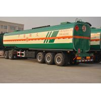 Buy cheap CIMC 3 axle carbon steel petrol fuel tank semi trailer for sale from wholesalers