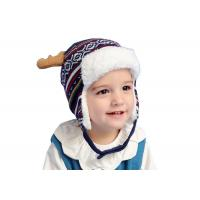 Buy cheap Knitted Ear Cuff Toddler Beanie Hat , Christmas Beanie Hat Unisex Gender from wholesalers
