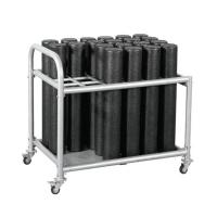 Buy cheap Yoga Mat Fom Rolling Wire Shelving Units , Commercial Storage Racks With Wheels from wholesalers