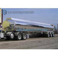 Buy cheap 3 Axle 42000L Lightweight Aluminum Alloy Semi Tanker Trailers from wholesalers