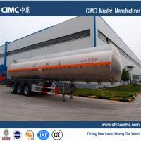 Buy cheap tri-axle 40,500litres fuel tanker trailers for sales in Ghana from wholesalers