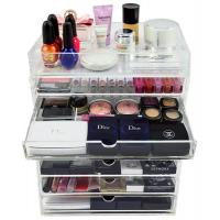 Buy cheap Fashion custom clear acrylic box makeup organizer from wholesalers