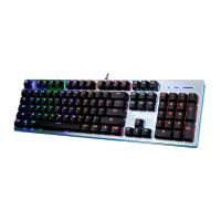 Professional Black White Mechanical Gaming Keyboard With Backlight Beautiful Design