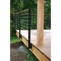 Buy cheap Best Price stainless steel handrails and balustrades with cable wire rope from wholesalers