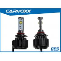 Buy cheap Universal Led replacement headlight bulbs for cars 3000LM 9005 / HB3 product