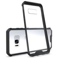 Buy cheap Hybrid TPU Frame Clear Crystal Back Cover Armor Protective Mask Phone Case Holster Shell For Samsung Galaxy S8 S8 Plus from wholesalers