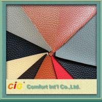 Buy cheap Custom Width 137cm PVC PU Synthetic Leather Thickness 0.8mm product