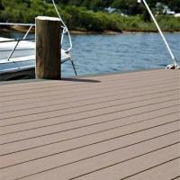 Buy cheap 134 x 24mm WPC Outdoor Floor with 25 Years Lifespan, CE Certified, Waterproof, Resists Cracking from wholesalers