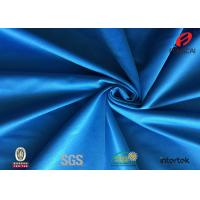 Buy cheap Durable 100 Polyester Tricot Fabric , Dark Blue Knitting Fusible Interlining Fabric from wholesalers