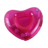 Buy cheap Red Sweat-heart Shape Inflatable Drink Holder PVC Pool Floating Holder 18*18cm from wholesalers