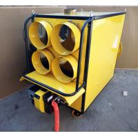 Buy cheap ECO Friendly Waste Oil Burning Heater KV 6000 Double Fan Low Consumption from wholesalers