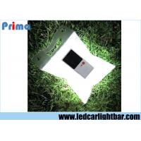 China Outdoor Solar Waterproof Inflatable Folding Camping Lamp , Led Solar Lantern White on sale