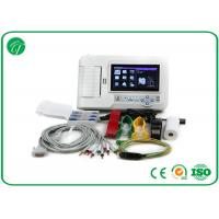 Buy cheap Touch Screen Six Channel Portable ECG Machine with Software Electrocardiogram Color from wholesalers