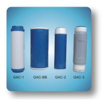 Buy cheap GAC(Granular activated carbon cartridge filters) from wholesalers