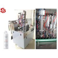 Buy cheap PLC Bag On Valve Aerosol Filling Machine BOV Spray Filling Machine from wholesalers