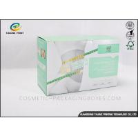 Buy cheap Newly Design Retail Packaging Boxes Green And White For Medicine Product from wholesalers