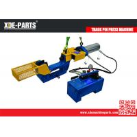 Buy cheap C type portable hydraulic track master link pin press remove machine from wholesalers